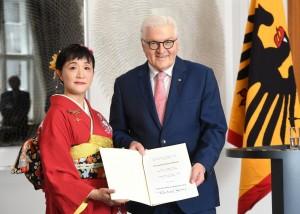 髙山佳奈子さんの2018年度ジーボルト賞の写真